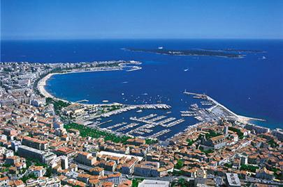 Things I like about Cannes #1: I like that it's always sunny in Cannes...