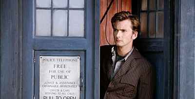 David Tennant proves that Britain has more advanced methods of traveling through time than simply visiting Wales...
