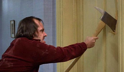 Okay, be honest, did anyone going in to see The Shining actually think that Jack Nicholson wasn't going to try to kill his family?