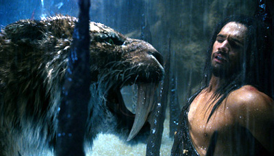 """Also contrary to popular belief, 100,000 BC is not an example of """"documentary cinema"""""""