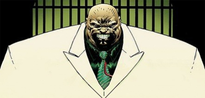 Okay, maybe Kingpin can look a bit creepy...