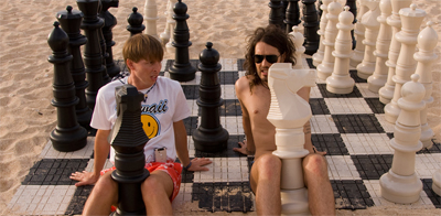 Sex is a lot like a game of chess...
