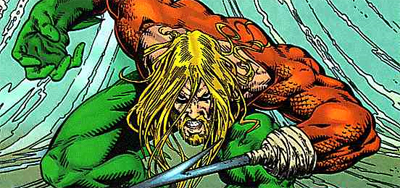 Arguably Aquaman's most successful iteration...