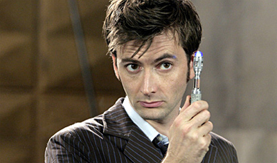 Things David Tennant would rather listen to than fanboy complaints...