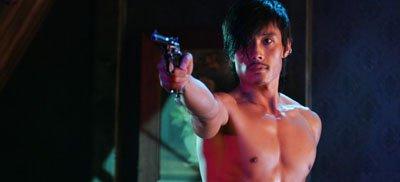 Naked gun...