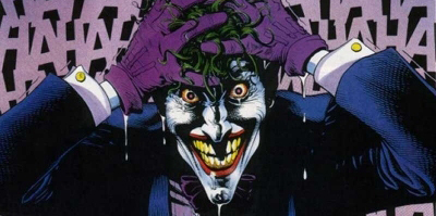 The Joker didn't get he was meant to bleach his HAIR...
