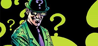 Batman would never find the Riddler in his top-secret lava lamp base...