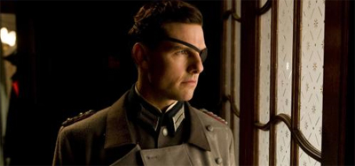 Tom Cruise played a vision-impaired conflicted German during the Third Reich... Where's his Oscar?