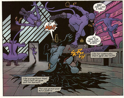 Carmine Bruce >> Batman and the Mad Monk | the m0vie blog