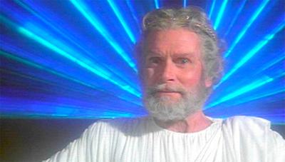 """I am Zeus! Behold me in my neon glory!"""