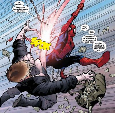 ultimate spider man shocker