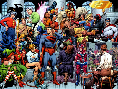 geoff johns run on justice society of america the next age thy