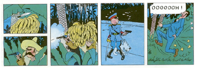 Image result for tintin the broken ear