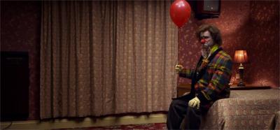 The tears of a rather creepy clown...