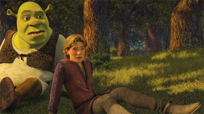 Non Review Review Shrek The Third The M0vie Blog