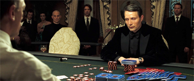 Who played the card dealer in casino royale