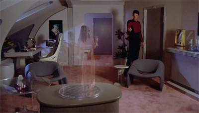 I hear Riker's also quite good at turning women on, hehehe...