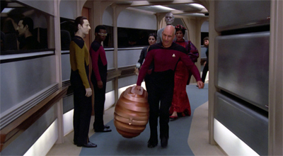 As usual, Patrick Stewart does the heavy lifting...