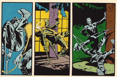 Fight sequences were never a crutch for Eisner...