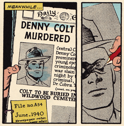 Denny Colt is the Spirit? No!