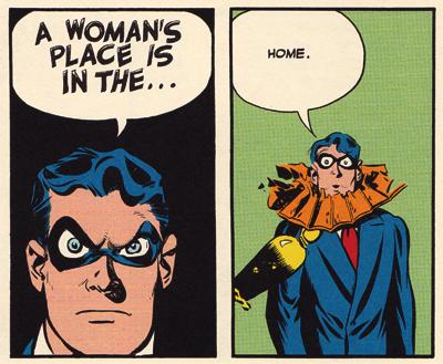 Ah, sexism!