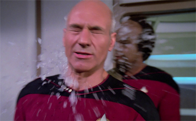 If you want a picture of Angel One, imagine a snowball hitting Picard's face — forever.Or for forty minutes. But it'll feel like forever.