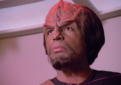 Worf would do well to lighten up a bit...