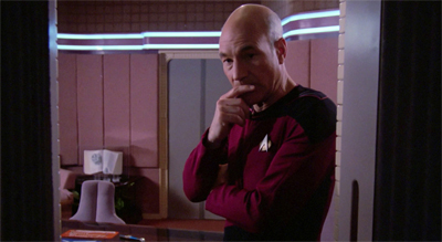 Picard off-guard...
