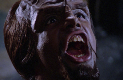 I am Klingon, hear me roar!