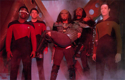 Sadly, an all-Klingon version of The Bodyguard never materialised...