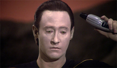 It's okay, Data, you never have to watch Skin of Evil again...