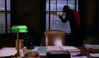 A window into Picard's personal life...