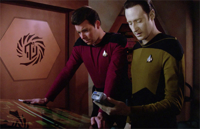 """Mr. Data, please tell me this isn't one of those computers I have to make love to in order to stop."""