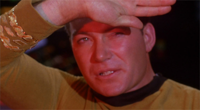 Lighten up, Kirk!