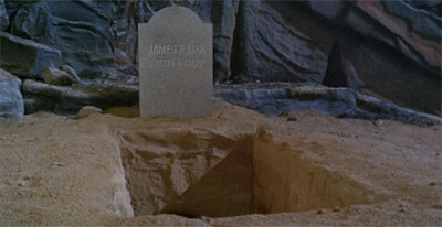 He's still the same old James T. Kirk... R. is he?