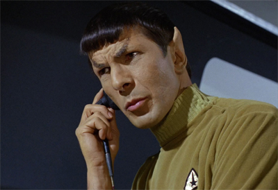 Spock got a call-back...