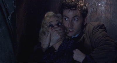 The Doctor has learned that the last thing we need is a good old companion scream right now...