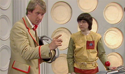 I love it when the Fifth Doctor tries to be commanding...