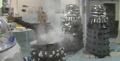Well, Davros did always get very excited...