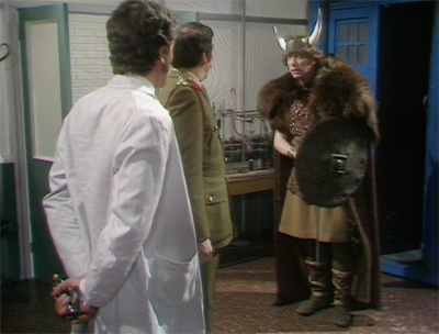 Okay, 90% of the pictures on this article are going to feature Tom Baker doing randomly surreal things...