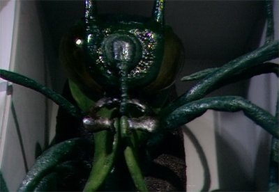 A model alien...