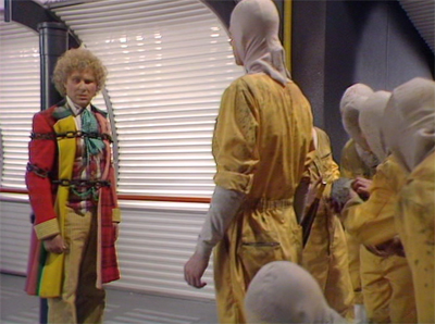 This might be a bit of an extreme reaction to the Sixth Doctor...