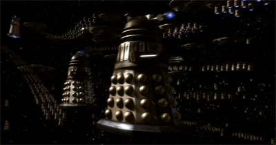 Daleks in space...