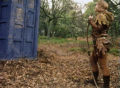 Time Traveller's arrow...