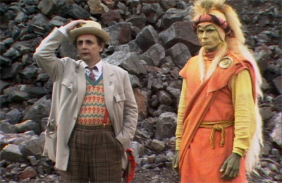 Sylvester McCoy provides the lion's share of the episode's charm.