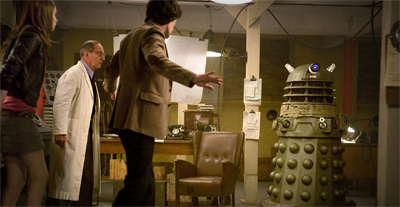 You can't exterminate in here, this is the war room!