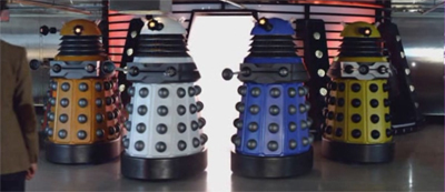 "Daleks have no concept of ""fabulous""..."