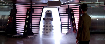 It's like a Dalek showroom...