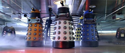 The Daleks got a new coat of paint...