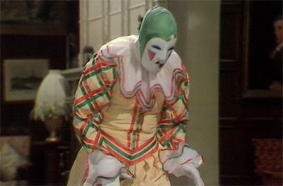 It's still less ridiculous than Colin Baker's outfit...